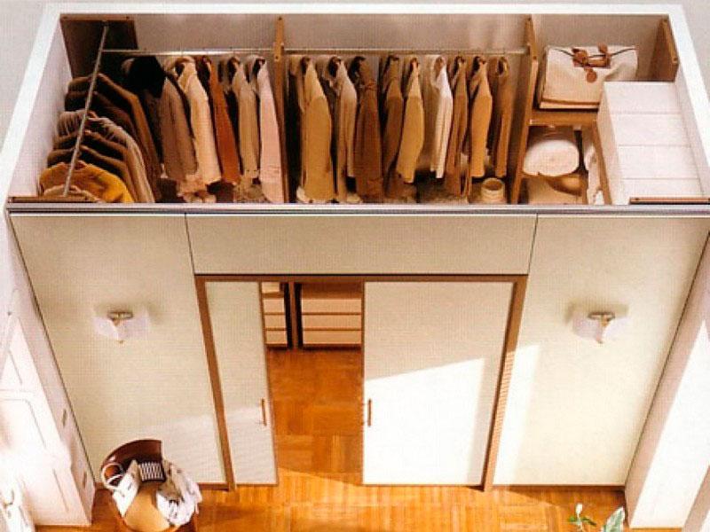 Как сделать из гардеробной комнату - Ashouse.ru